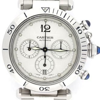 Cartier/カルティエ パシャ 2113 オーバーホール 研磨