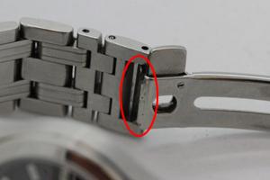 シーマスター827のベルト修理