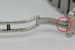 ジラールペルゴのベルト修理