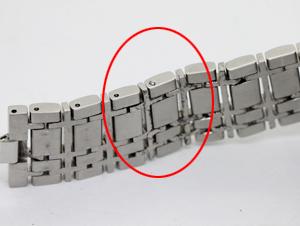 バーバリーのベルト溶接修理