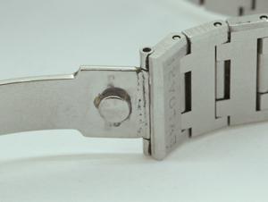 ブルガリ ベルトの留め金具 溶接修理
