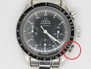 innovative design 2765a 9882e スピードマスターのプッシュボタンとベルト修理 | 時計修理工房 ...